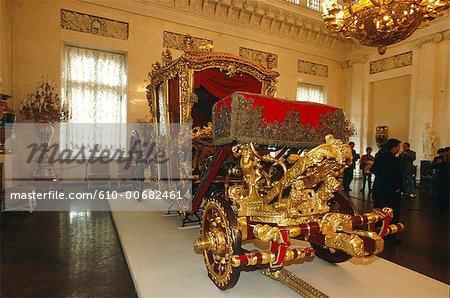 Russie, Saint-Pétersbourg, ermitage, entraîneur de Catherine II