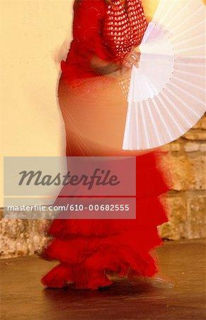 Spain, Andalusia, Cordoba, flamenco dance show.