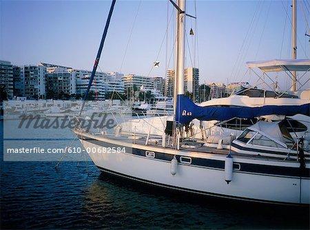 Espagne, Andalousie, Costa del Sol, Marbella, la marina.