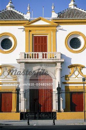 Spain, Andalusia, Seville, arena (Maestranza)