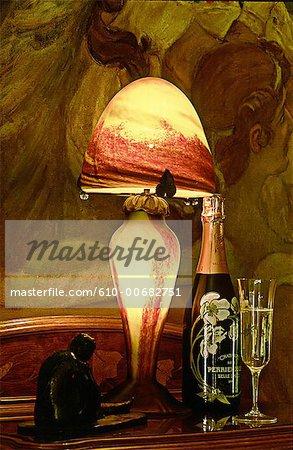 France, Champagne region, Epernay, art nouveau