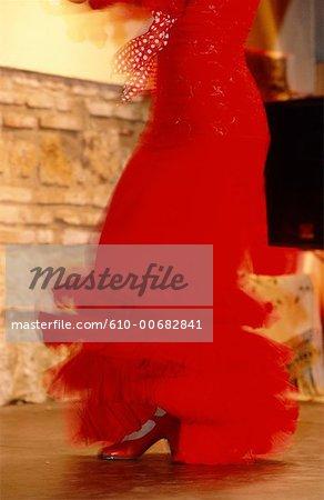 Spectacle de danse Flamenco, Cordoue, Andalousie, Espagne