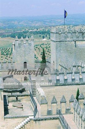 Château d'Almodovar del Rio Espagne, Andalousie,