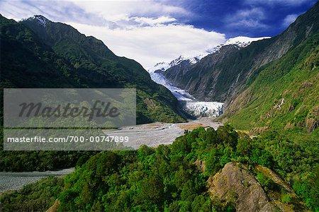 Franz Josef Glacier, Nouvelle-Zélande