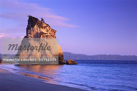 Te Hoho Rock, cathédrale Cove, péninsule de Coromandel, Nouvelle-Zélande