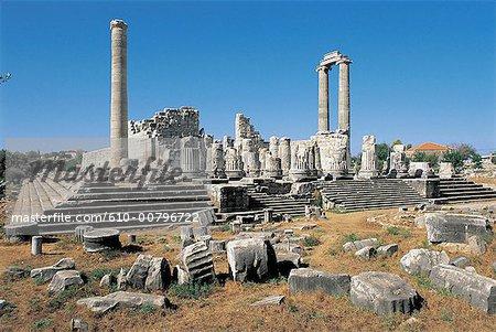 Turkey, Didymes, temple of Apollo.