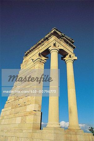Sanctuaire de Chypre, Kouriou, d'Apollon.