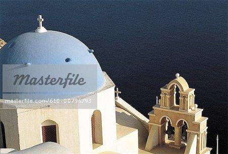 Grèce, Cyclades, Santorini, église