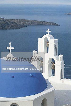 Grèce, Cyclades, Santorini, Thira