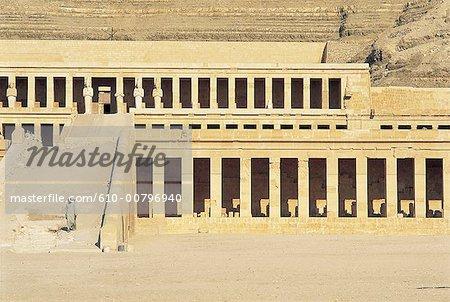 Egypt, Luxor, Queen Hatchepsout temple