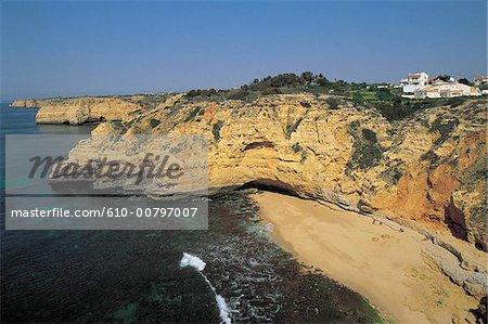 Portugal, Algarve, Praia da Rocha