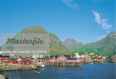 Norvège, îles Lofoten, Moskenesoy