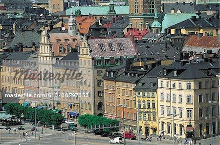 Suède, Stockholm, Gamla Stan