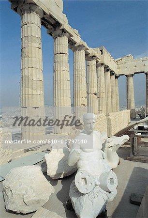 Grèce, Acropole, Parthénon