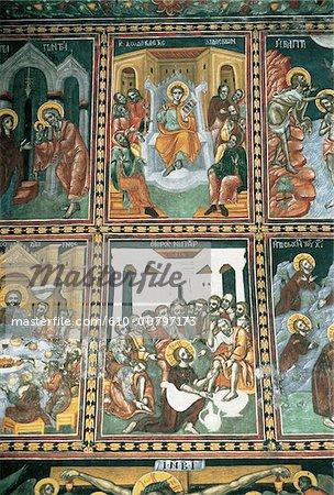 Chypre, la cathédrale Saint-Jean, mosaïque.