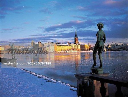 Sweden, Stockholm, Riddar holmen