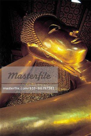 Thaïlande, Bangkok, temple de Wat Po