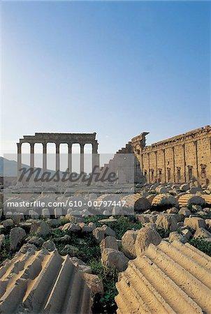 Syria, Palmyra, temple of Bel