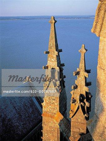 France, Normandie, mont Saint Michel