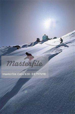 France, Alps, Val Thorens