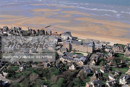 France, Normandie, Villers-sur-Mer