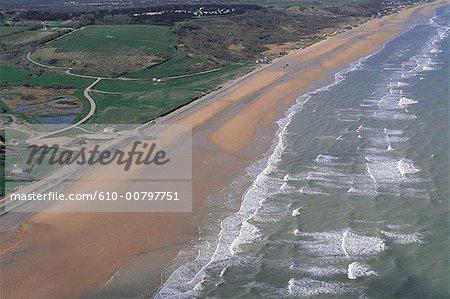 France, Normandie, près de Colleville sur mer, Omaha beach
