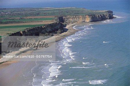 France, Normandie, près de Vierville sur mer