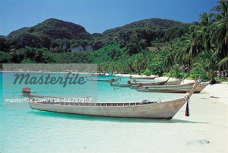 Thaïlande, baie de Phang-Na
