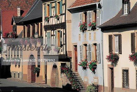 France, Alsace, Gueberschwihr.