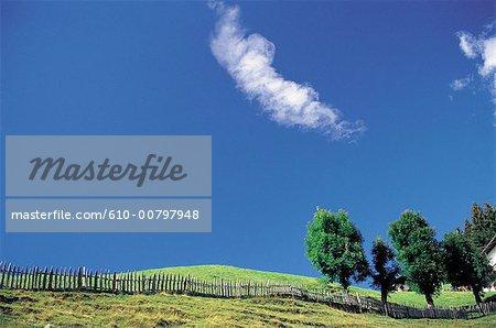 Paysage du Tyrol, Autriche.