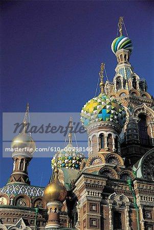 Cathédrale de Saint-Pétersbourg, en Russie, du Christ-Sauveur.