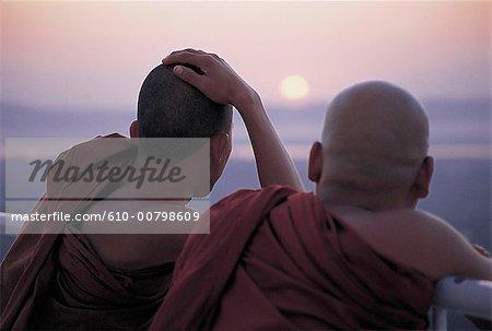 Myanmar, moine bouddhiste
