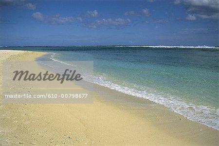 Mauritius island, lagoon