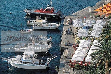 France, Corse, Ajaccio, le port