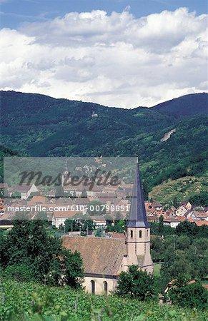 France, Alsace, Andlau
