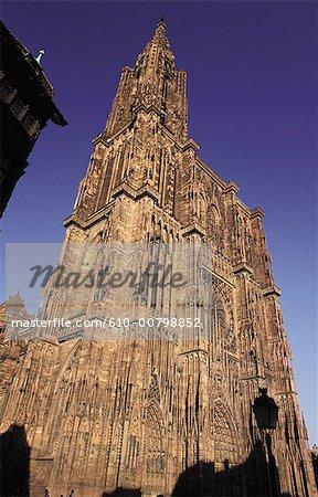 France, Alsace, Strasbourg, la cathédrale