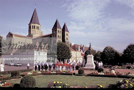 France, Bourgogne, Paray le Monial, Basilique Sacré-coeur