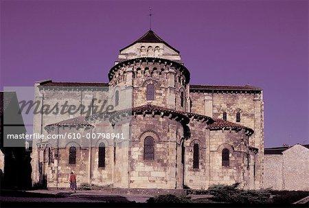 France, Bourgogne, Nevers, église de Saint Etienne