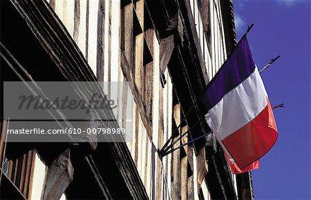 France, Normandy, Vernon, flag