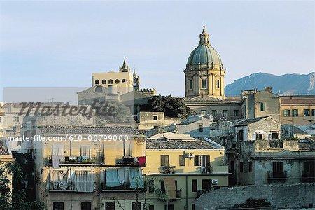 Italie, Sicile, Palerme, la cathédrale ou duomo