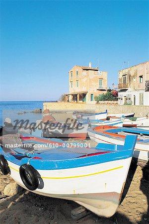 Italy, Sicily, Palermo, Porticello