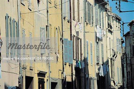 France, Provence, Martigues, street