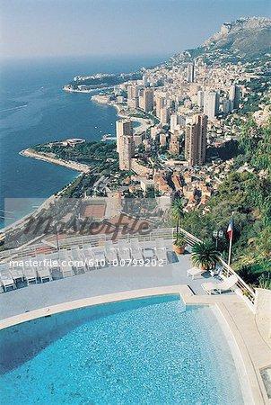 France, Provence, Monaco de Bella Vista