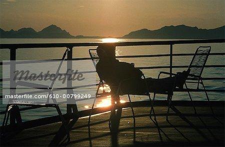 Norvège, soleil de minuit