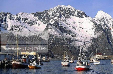 Norway, Lofoten islands, Henningsvaer