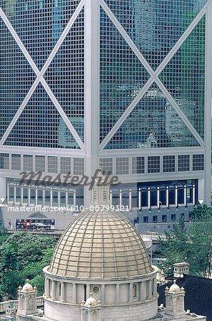 Banque de Chine, de Hong Kong, de HK & de Shangai.