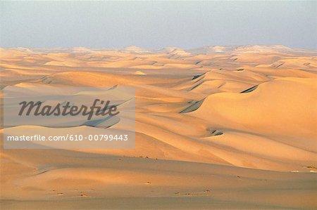 Egypt, Libyan desert, sea of sand