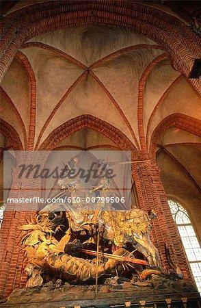 Michael de Suède, Stockholm, tuant le dragon