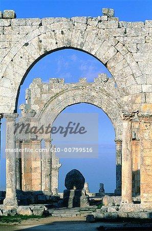 Syria, Alep, Saint Simeon basilica