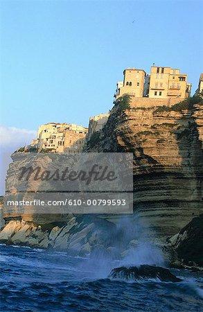France, falaises de Bonifacio, Corse